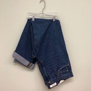 Zara Women's Folded Up Jeans | Straight